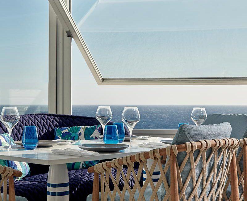 Efisia fine dining on Mykonos